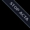 Stop ACTA Ribbon