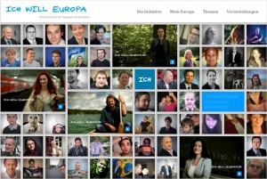 Screenshot www.ich-will-europa.de
