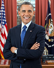 Barack Obama - Bildquelle: Wikipedia / Official White House Photo by Pete Souza