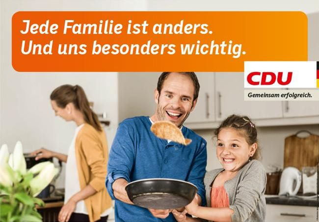 CDU - Jede Familie ist anders