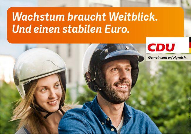 CDU - Wachstum braucht Weitblick