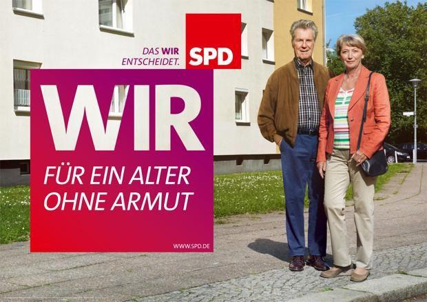 SPD - Für ein Alter ohne Armut