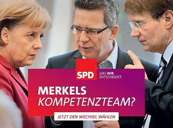 SPD - Merkels Kompetenzteam