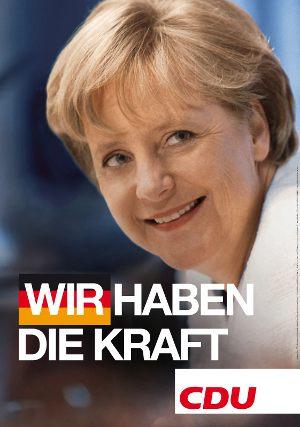 Wahlplakat CDU 2009