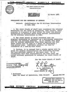 False Flag Operation Northwoods