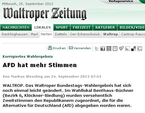 Waltroper Zeitung