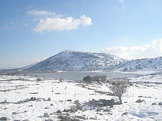 Golanhöhen im Winter