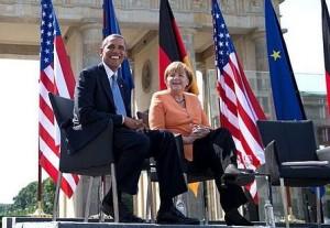 Obama und Merkel - Bildquelle: Wikipedia / Pete Souza tweet