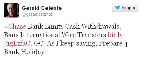 Tweet Celente