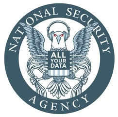NSA - All your data - Bildquelle: Wikipedia / EFF