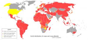 Weltweite Putsche