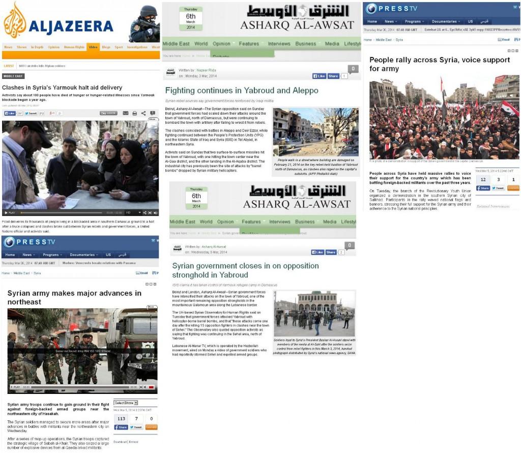 Berichterstattung Syrien