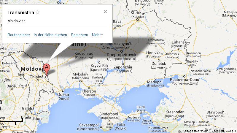 Google Maps - Transnistrien