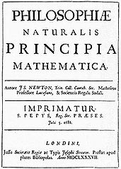 Isaac Newton - Principia Mathematica