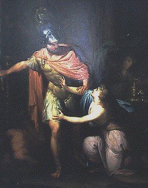 Hubert Maurer - Circe und Odysseus