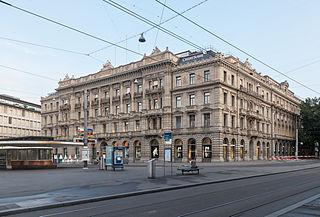 Credit Suisse Zürich - Bildquelle: Wikipedia /  Thomas Wolf, www.foto-tw.de
