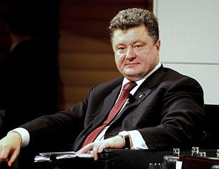 Petro Poroschenko - Bildquelle: Wikipedia / Kathrin Möbius