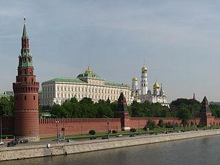 Kreml - Bildquelle: Wikipedia / Минеева Ю. (Julmin) (retouched by Surendil)