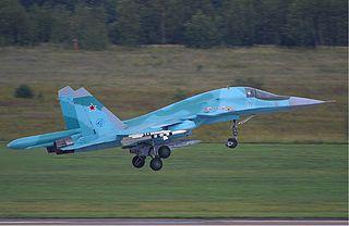 Su-34-Bomber - Bildquelle: Wikipedia / Yevgeny Pashnin