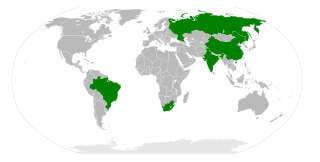 BRICS-Staaten - Bildquelle: Wikipedia / João Felipe C.S