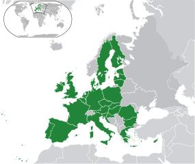 Europäische Union - Bildquelle: Wikipedia / Hayden120 and NuclearVacuum