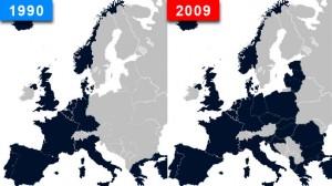 NATO-Osterweiterung 1990-2009 - Bildquelle: www.investwithalex.com