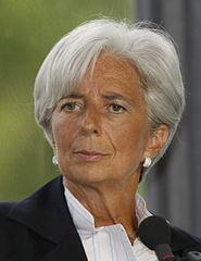 Christine Lagarde - Bildquelle: Wikipedia / MEDEF