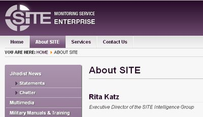 SITE - Bildquelle: Screenshot-Ausschnitt www.siteintelgroup.com