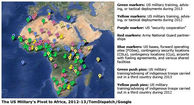 US-Militär in Westafrika - Bildquelle: Screenshot-Ausschnitt www.motherjones.com