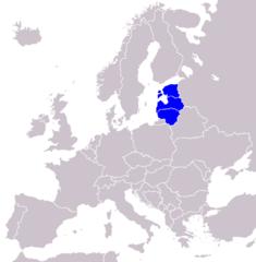 Baltischen Staaten - Bildquelle: Wikipedia / TBjornstad
