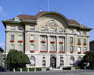 Schweizerische Nationalbank in Bern - Bildquelle: Wikipedia / Baikonur