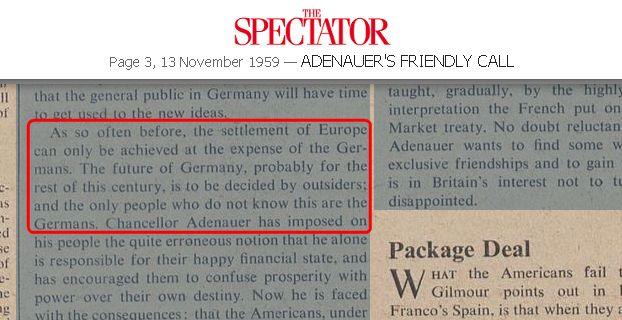 The Spectator - Bildquelle: Screenshot-Ausschnitt archive.spectator.co.uk