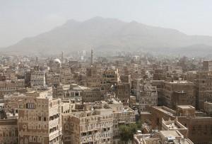 Sanaa (Hauptstadt Jemen) - Bildquelle: Wikipedia / Ferdinand Reus from Arnhem, Holland