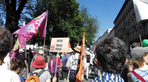 G7-Demo München Bild 10 - Bildquelle: www.konjunktion.info