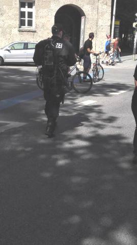 G7-Demo München Bild 11 - Bildquelle: www.konjunktion.info