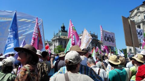 G7-Demo München Bild 19 - Bildquelle: www.konjunktion.info
