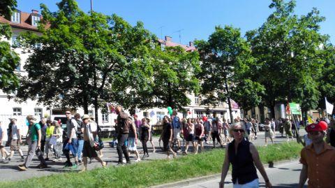 G7-Demo München Bild 5 - Bildquelle: www.konjunktion.info