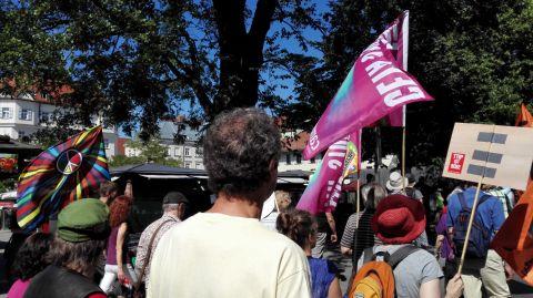 G7-Demo München Bild 8 - Bildquelle: www.konjunktion.info