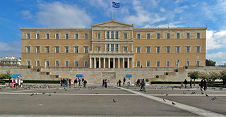 Griechisches Parlament - Bildquelle: Wikipedia / Andreas Trepte