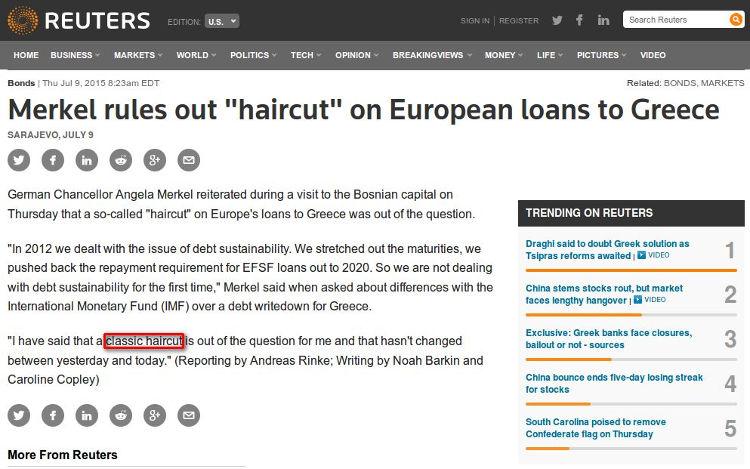 Reuters - Bildquelle: Screenshot-Ausschnitt www.reuters.com