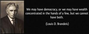 Louis D. Brandeis - Bildquelle: www.libertyblitzkrieg.com
