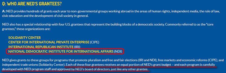 NED und NDI - Bildquelle: Screenshot-Ausschnitt www.ned.org