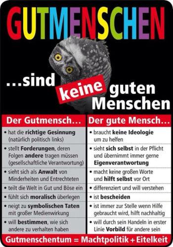 Gutmensch - Bildquelle: pinksliberal.wordpress.com