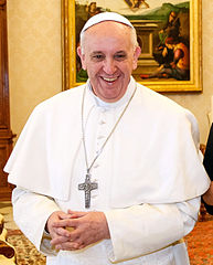 Papst Franziskus - Bildquelle: Wikipedia / Presidência da Republica/Roberto Stuckert Filho
