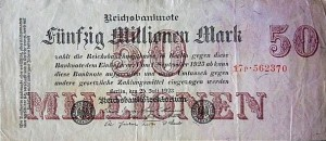 Reichsmark - Bildquelle: Wikipedia / waterborough
