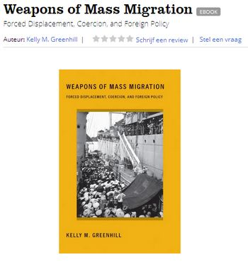 Weapons Of Mass Migration - Bildquelle: Screenshot-Ausschnitt www.bol.com