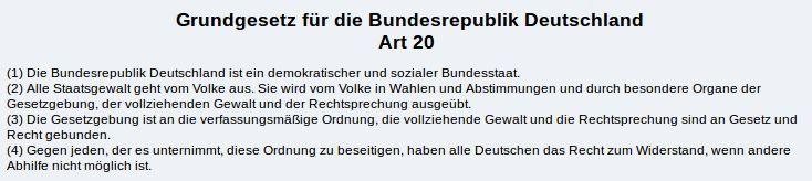 GG Artikel 20 - Bildquelle: Screenshot-Ausschnitt www.gesetze-im-internet.de