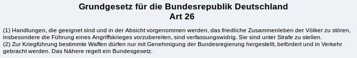 GG Artikel 26 - Bildquelle: Screenshot-Ausschnitt www.gesetze-im-internet.de