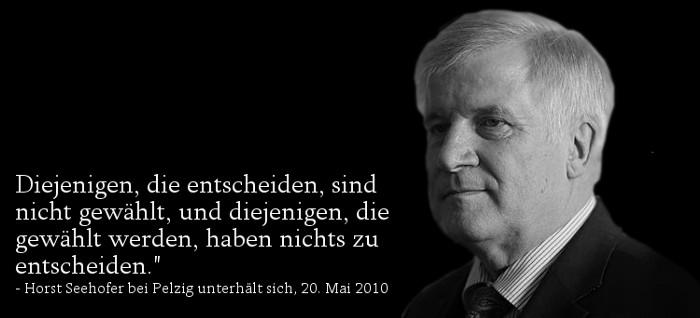 Horst Seehofer - Bildquelle: www.konjunktion.info