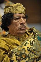 Muammar al-Gaddafi - Bildquelle: Wikipedia / U.S. Navy photo by Mass Communication Specialist 2nd Class Jesse B. Awalt/Released